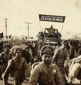 (老照片)迎来黎明曙光的新中国旧照片
